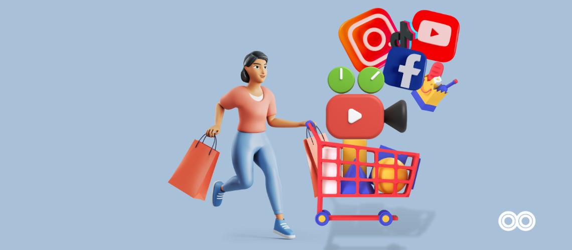 Image d'un consommateur pour illustrer Comment le format vidéo influence les choix des consommateurs en 2021?